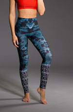 Onzie High Rise Graphic Legging Lucky Eye