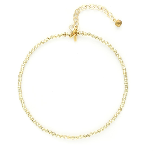 Vanessa Mooney The Saint Paul Choker Gold
