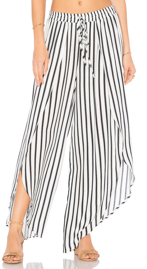 Tori Praver Justina Pants Sunday Stripe