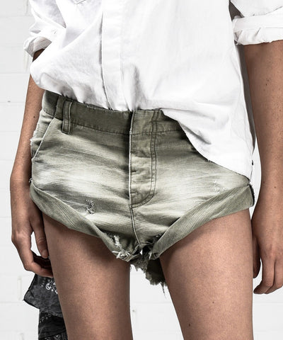 One Teaspoon Volcanic Bandits Denim Shorts