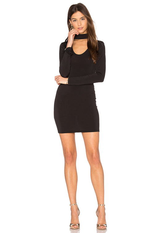 Motel Nymphea Bodycon Dress Black