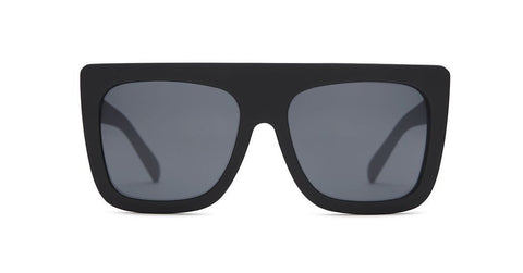 Quay Cafe Racer Black/Smoke Lens Sunglasses