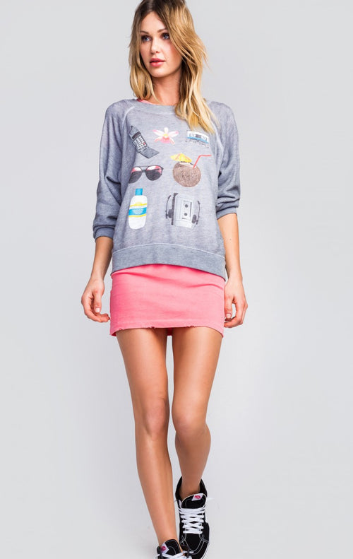 Wildfox Tanning Essentials Sommers Sweater