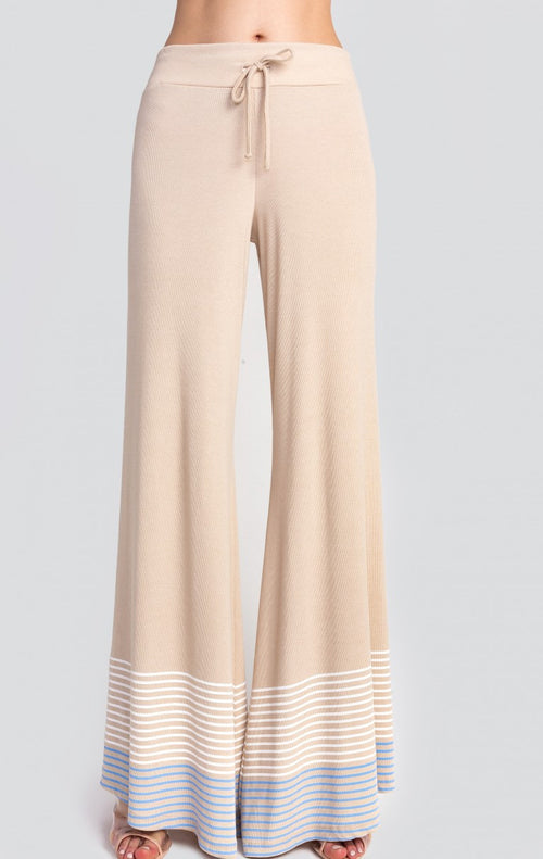 Wildfox Port Stripes Stardust Pants