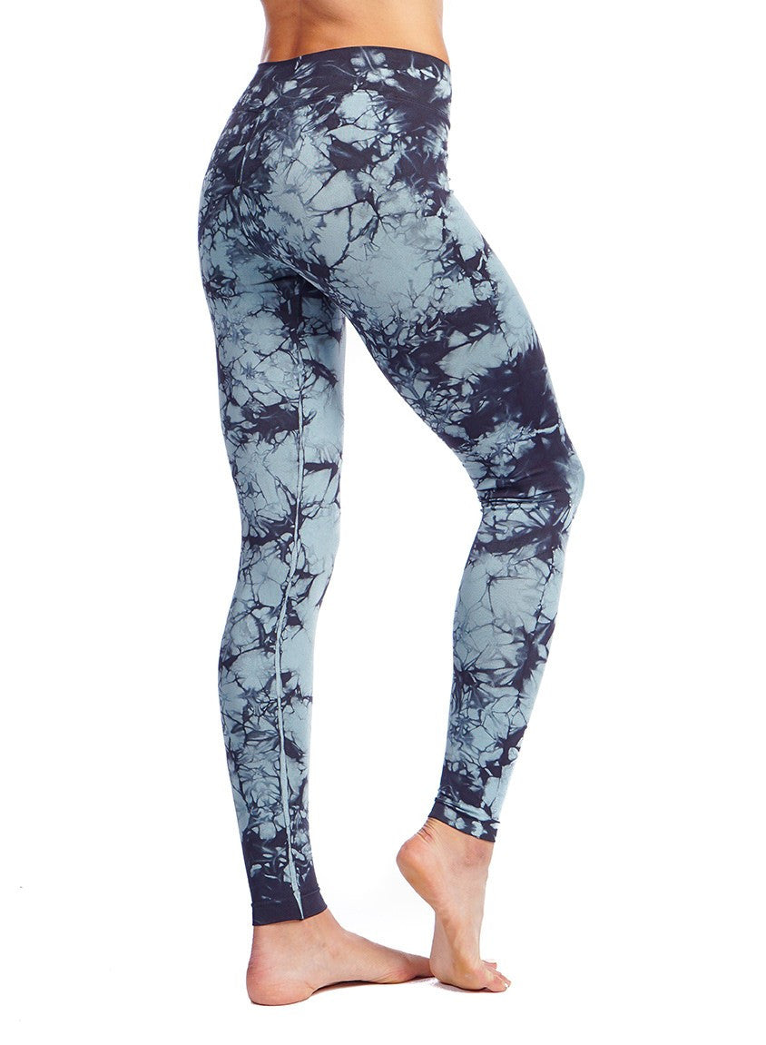 Nux Active Leggings Tie Dye Indian Sage