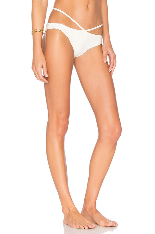 Lovers + Friends Jet Setting Swim Bottom Ivory