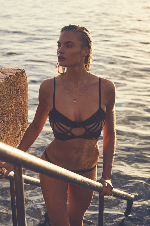 For Love & Lemons Balmy Bikini Bottom