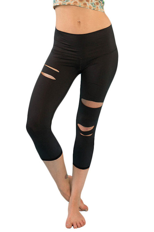 Teeki Harley Cut Out Capri Hot Pant