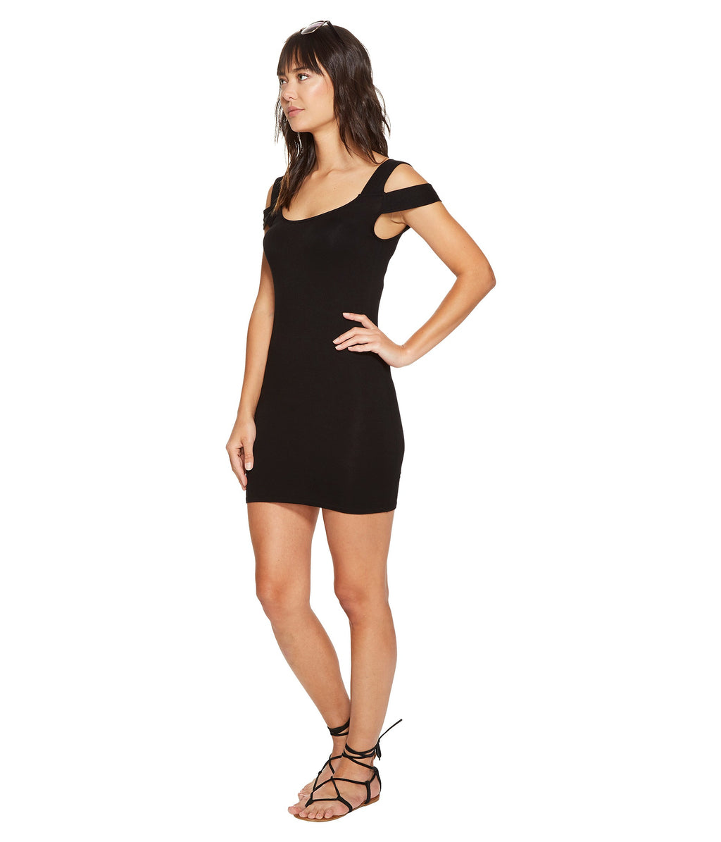 Clayton Francis Mini Dress Black