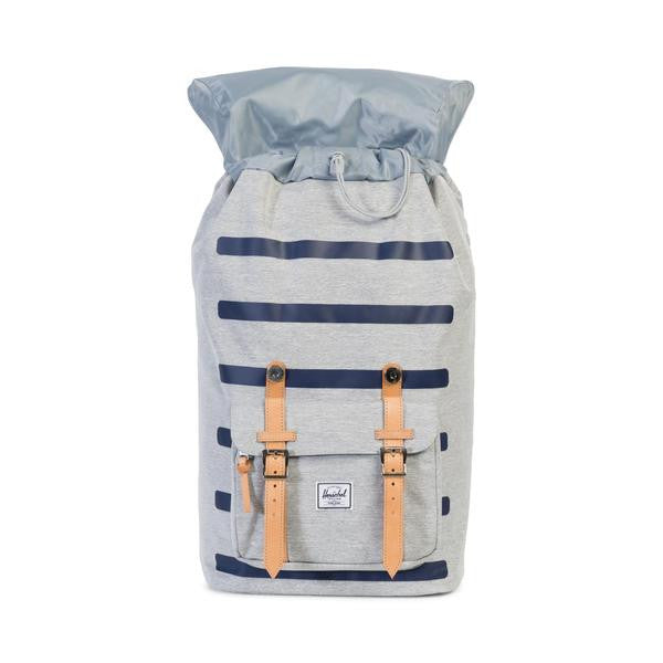 Herschel Little America Backpack Light Grey Crosshatch