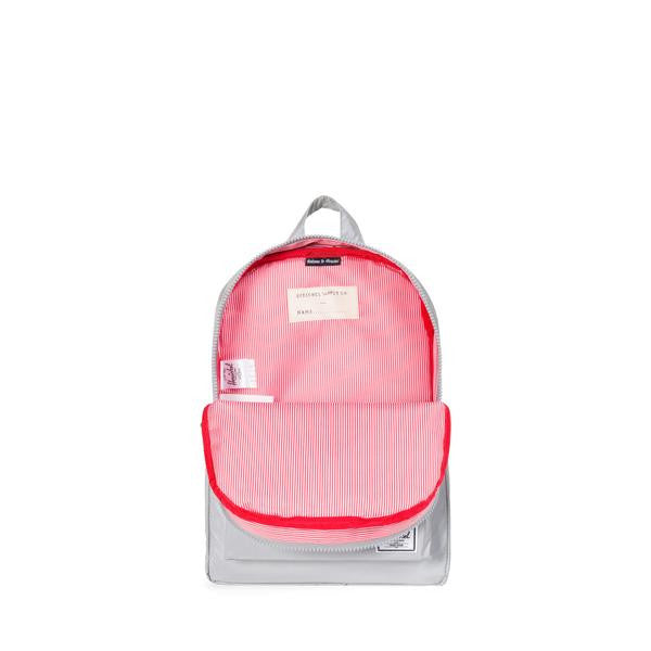 Herschel Heritage Backpack Silver Reflective Rubber
