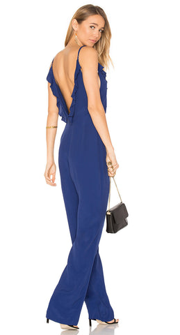 Privacy Please Bedford Jumpsuit Navy