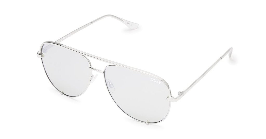 0323181e66 Quay High Key Silver Mirror Sunglasses – Bliss Bandits