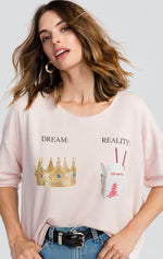 Wildfox Dream vs. Reality 5AM Sweatshirt