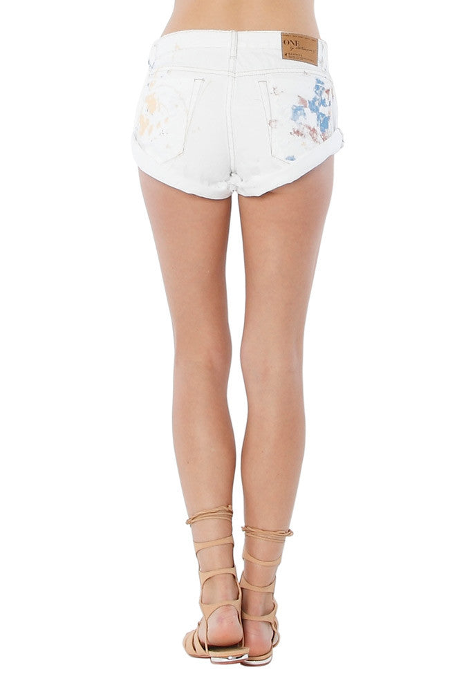 One Teaspoon Coco Cash Bandits Shorts