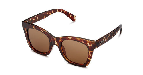 Quay After Hours Tortoise Sunglasses