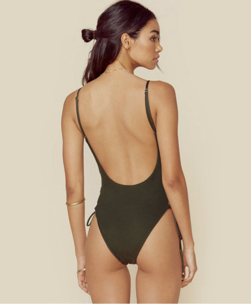 Blue Life Mermaid One Piece Olive