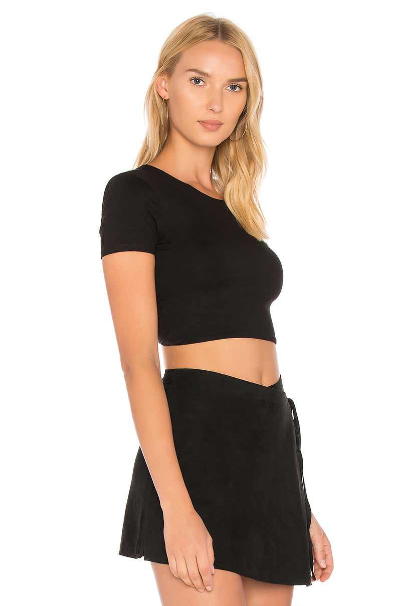 Privacy Please Howell Twist Back Top