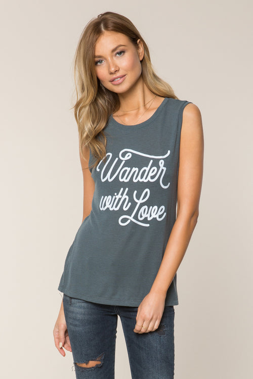 Spiritual Gangster Wander With Love Chakra Tank Army