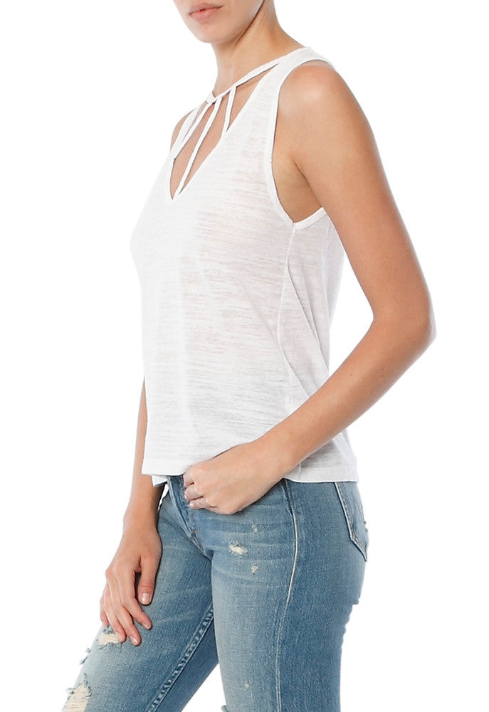 LNA Willow Strappy Tank Top
