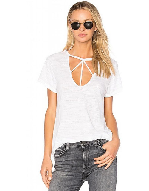 LNA Willow Strappy Tee Shirt