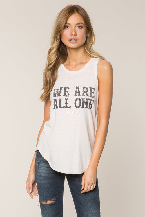 Spiritual Gangster We Are All One Studio Tank