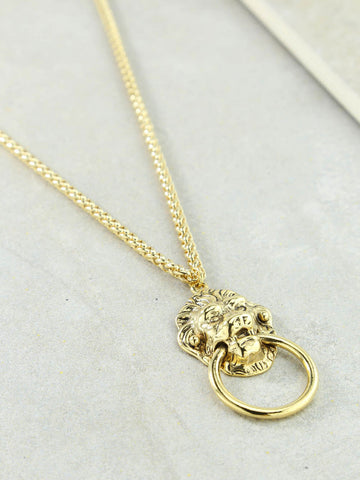 Ettika Unchained Heart Gold Necklace