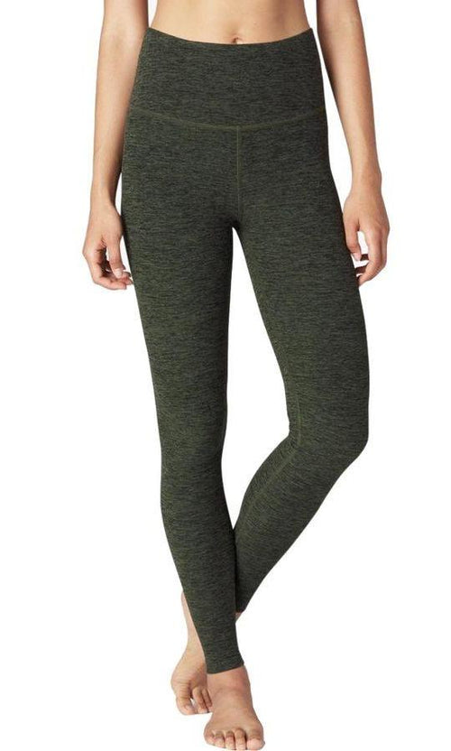 Beyond Yoga High Waist Spacedye Legging Aviator Green