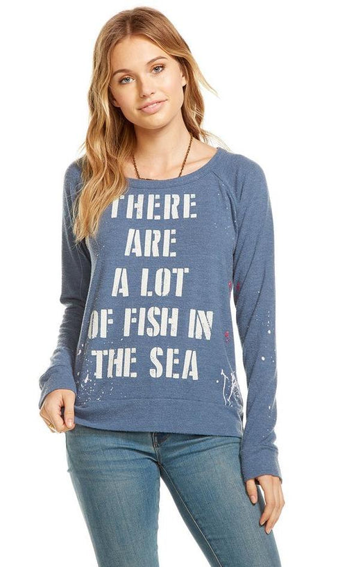 Chaser Fish in the Sea Sweater