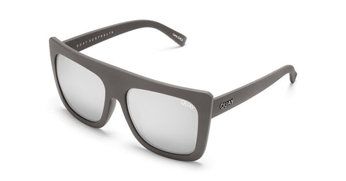 Quay Cafe Racer Grey/Silver Sunglasses