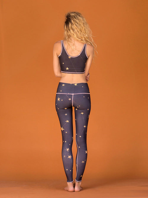 Teeki Great Star Nation Black Hot Pant