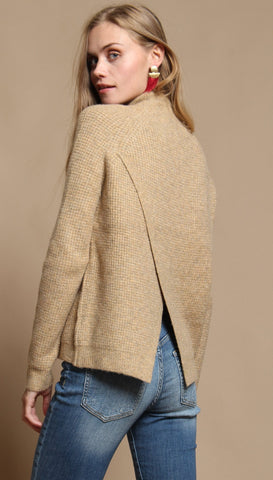 Wildfox Camilla Sweater Maderas Tan