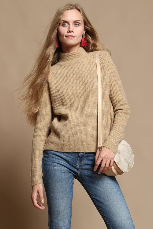 Blank NYC Atomic Tan Sweater