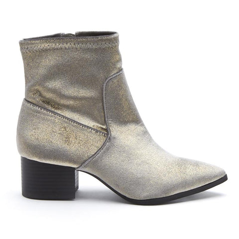 Matisse Pronto Distressed Suede Booties Saddle