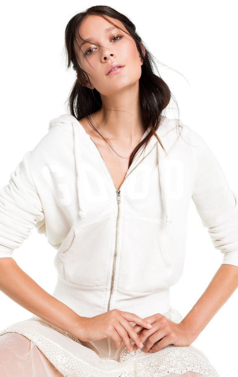 Wildfox Good Carta Angel Hoodie Sweater