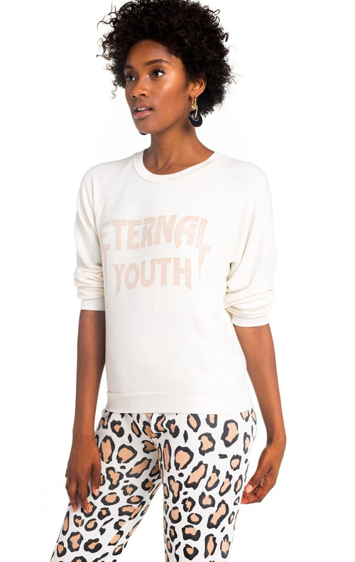 Wildfox Eternal Youth Junior Sweatshirt