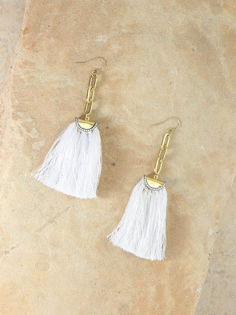 Vanessa Mooney The Kim Tassel Earrings