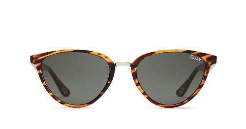 Quay Rumours Sunglasses Tort Green