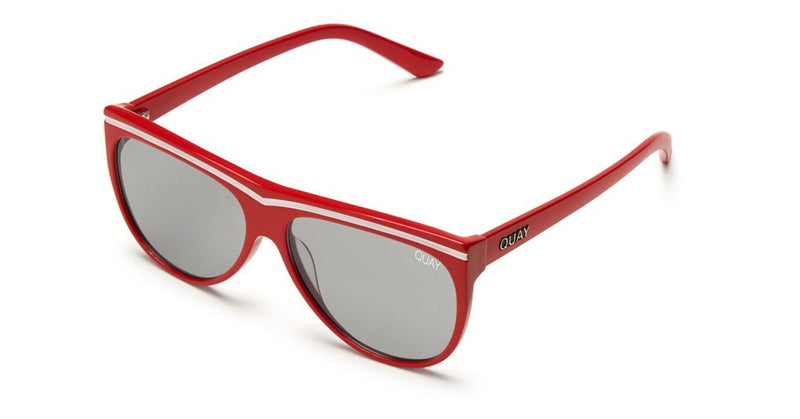 Quay Hollywood Nights Sunglasses Red