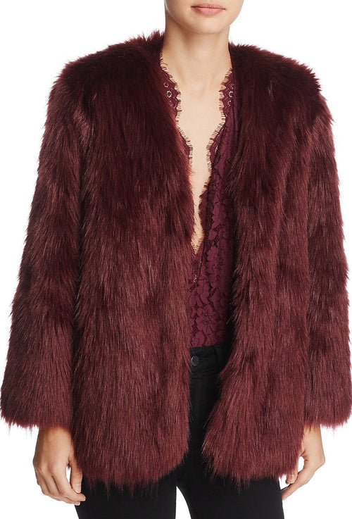 Lovers + Friends Adora Faux Fur Jacket