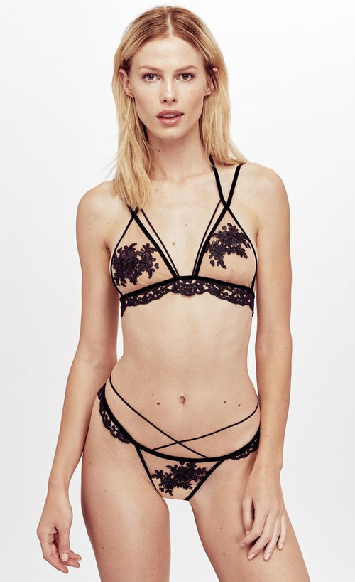 For Love and Lemons Noemi Strappy Bralette