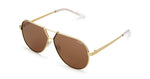 Quay Supernova Sunglasses Gold Brown