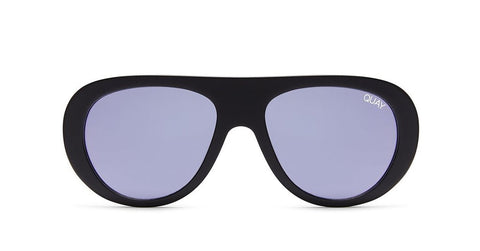 Quay x Desi OTL II Black Smoke Sunglasses