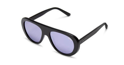 Quay Bold Move Sunglasses Black Purple