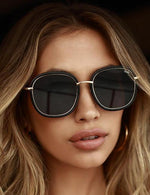 Quay Dreamy Ways Sunglasses Black Smoke
