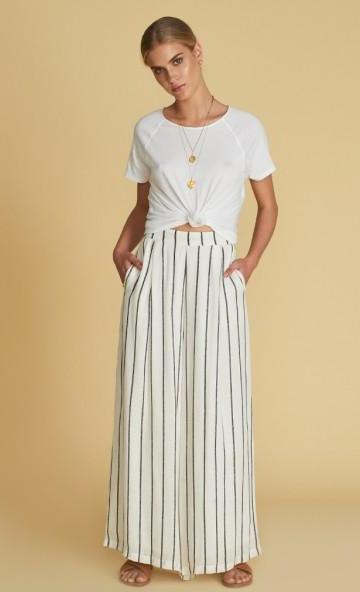 Sancia Manon Wide Leg Pant Stripe