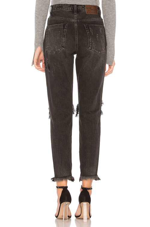 One Teaspoon Double Bass Freebirds High Waist Skinny Jeans