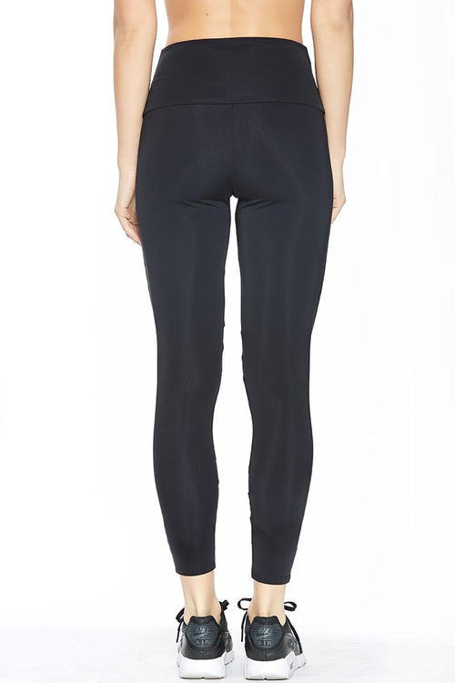 Onzie High Rise Sporty Mesh Legging Black