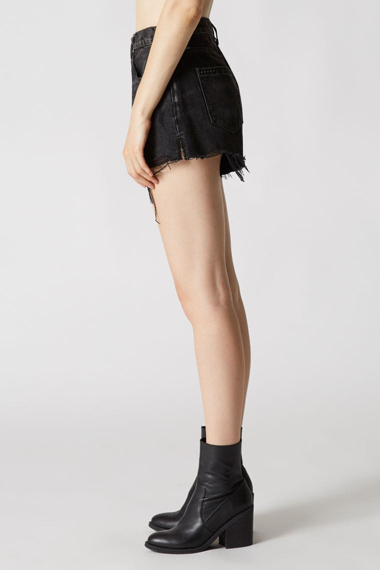 Blank NYC Blackbuster High Rise Jean Shorts