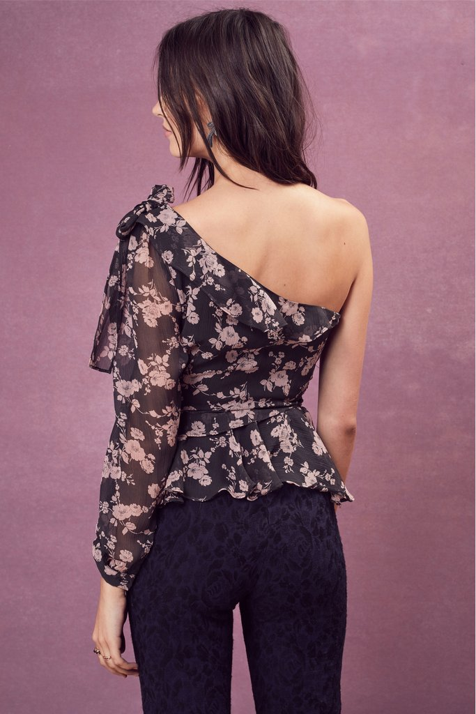 For Love and Lemons Theo One Shoulder Top